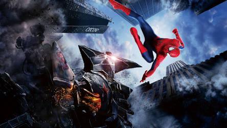 The Amazing Spider-Man 2 Movie Poster Wallpaper 3 by ProfessorAdagio