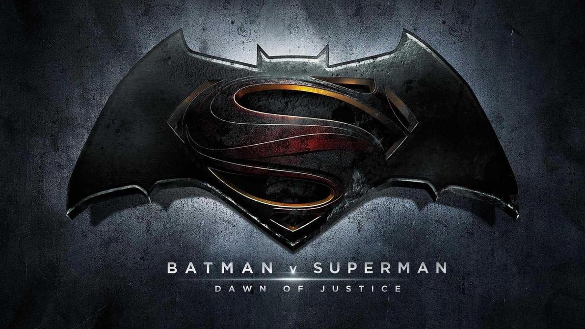 Batman V Superman: Dawn Of Justice Official Logo by ProfessorAdagio