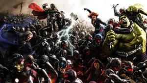 The Avengers: Age Of Ultron Comic-Con Poster