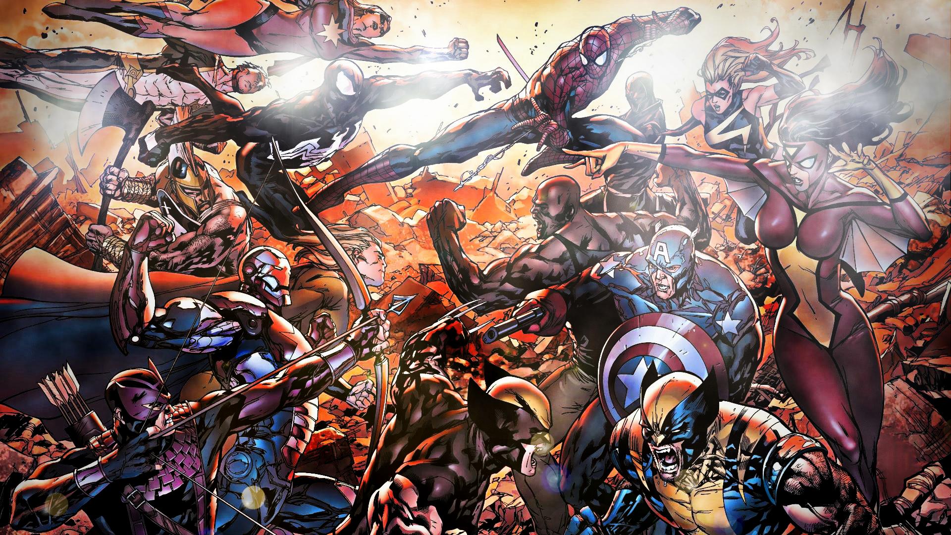marvel avengers mobile wallpapers