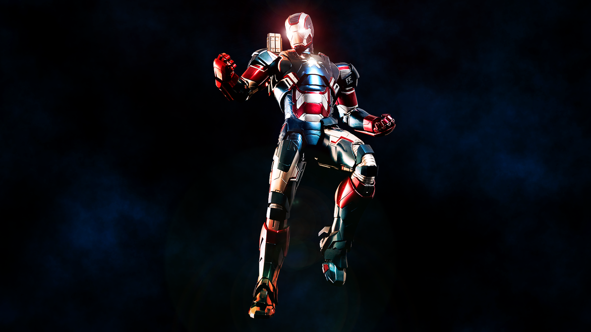 The Iron Patriot by ProfessorAdagio