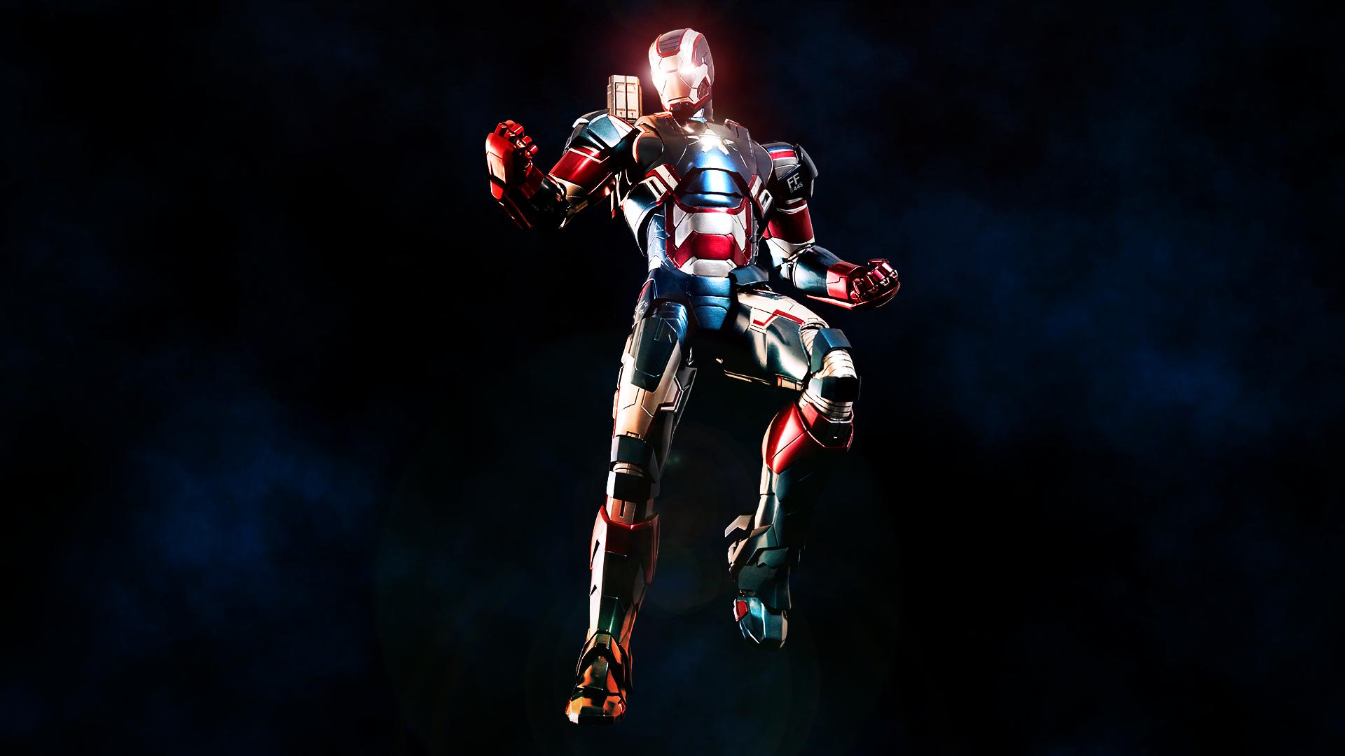The Iron Patriot by ProfessorAdagio