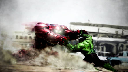 The Avengers: Age Of Ultron Hulkbuster Concept