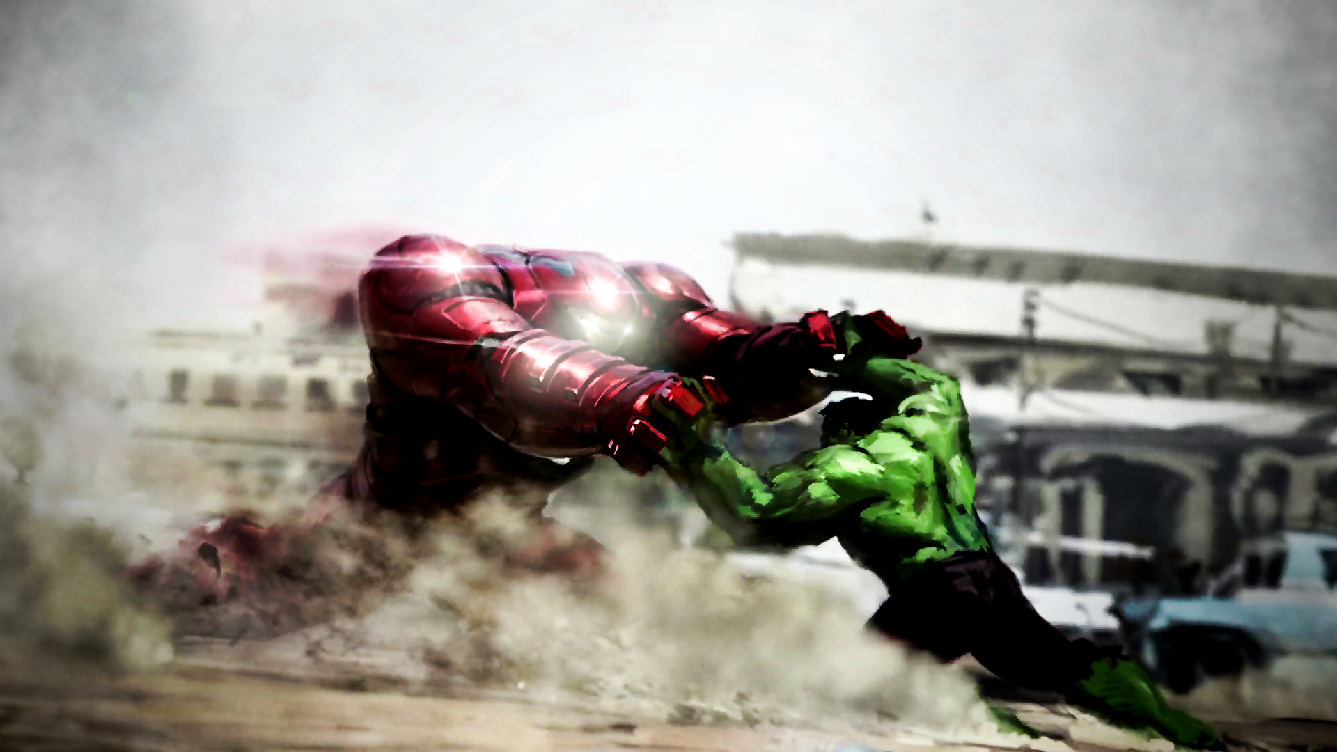 The Avengers: Age Of Ultron Hulkbuster Concept by ProfessorAdagio