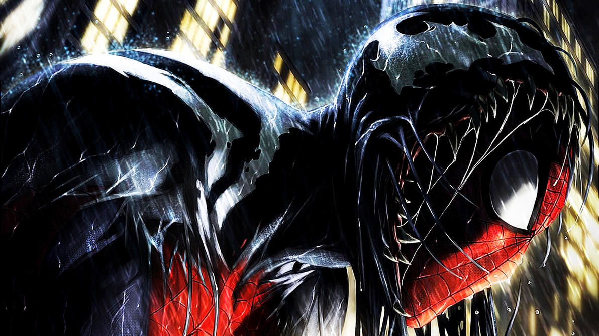 The Venom Symbiote by ProfessorAdagio