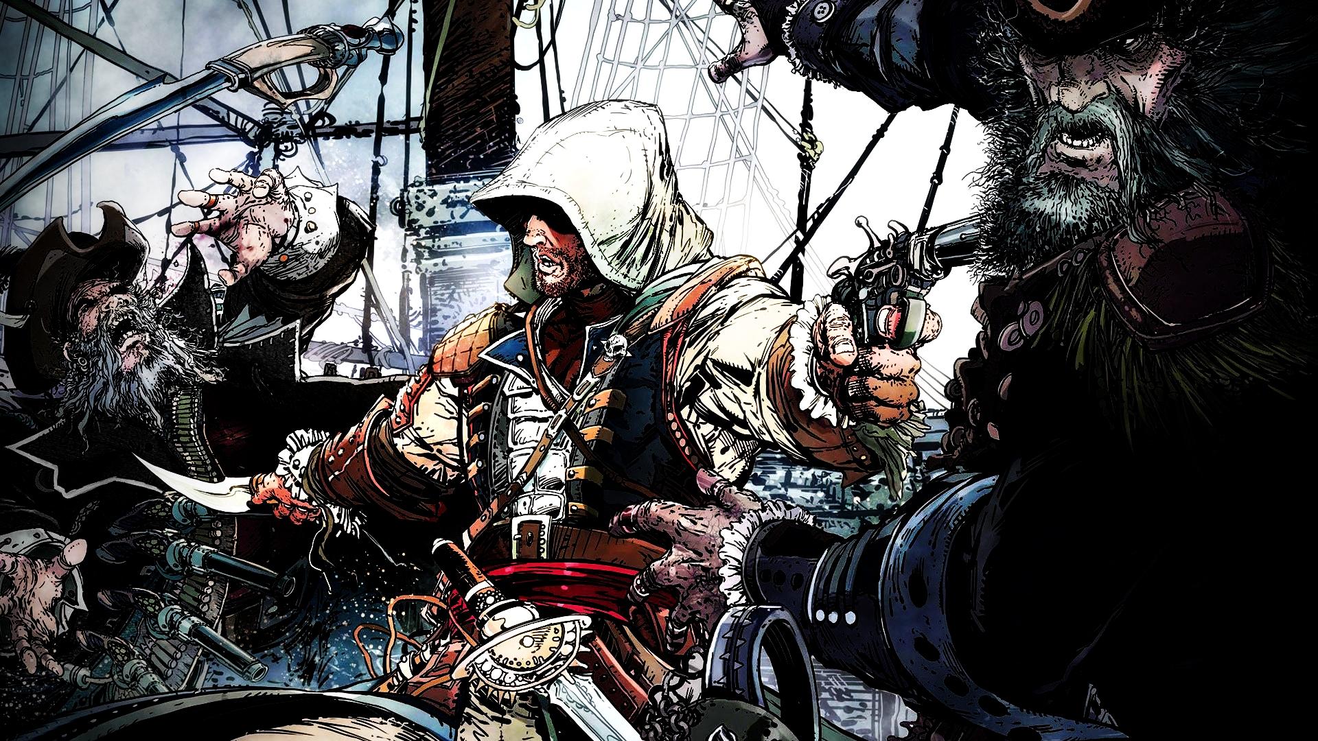 Assassin's Creed Black Flag by ProfessorAdagio