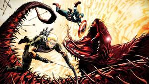 Capatain America And Hawkeye