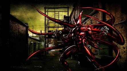 The Hybrid Symbiote by ProfessorAdagio