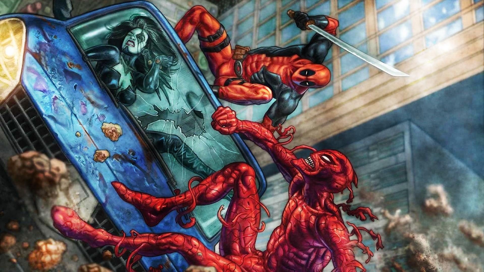 Deadpool Vs Carnage By ProfessorAdagio