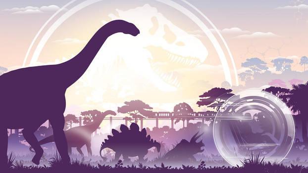 Jurassic World Light by ProfessorAdagio