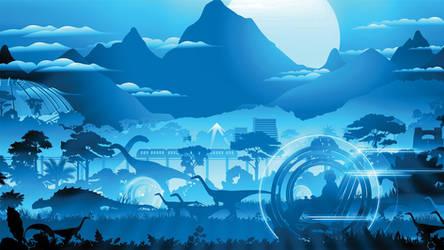 Jurassic World Dark by ProfessorAdagio