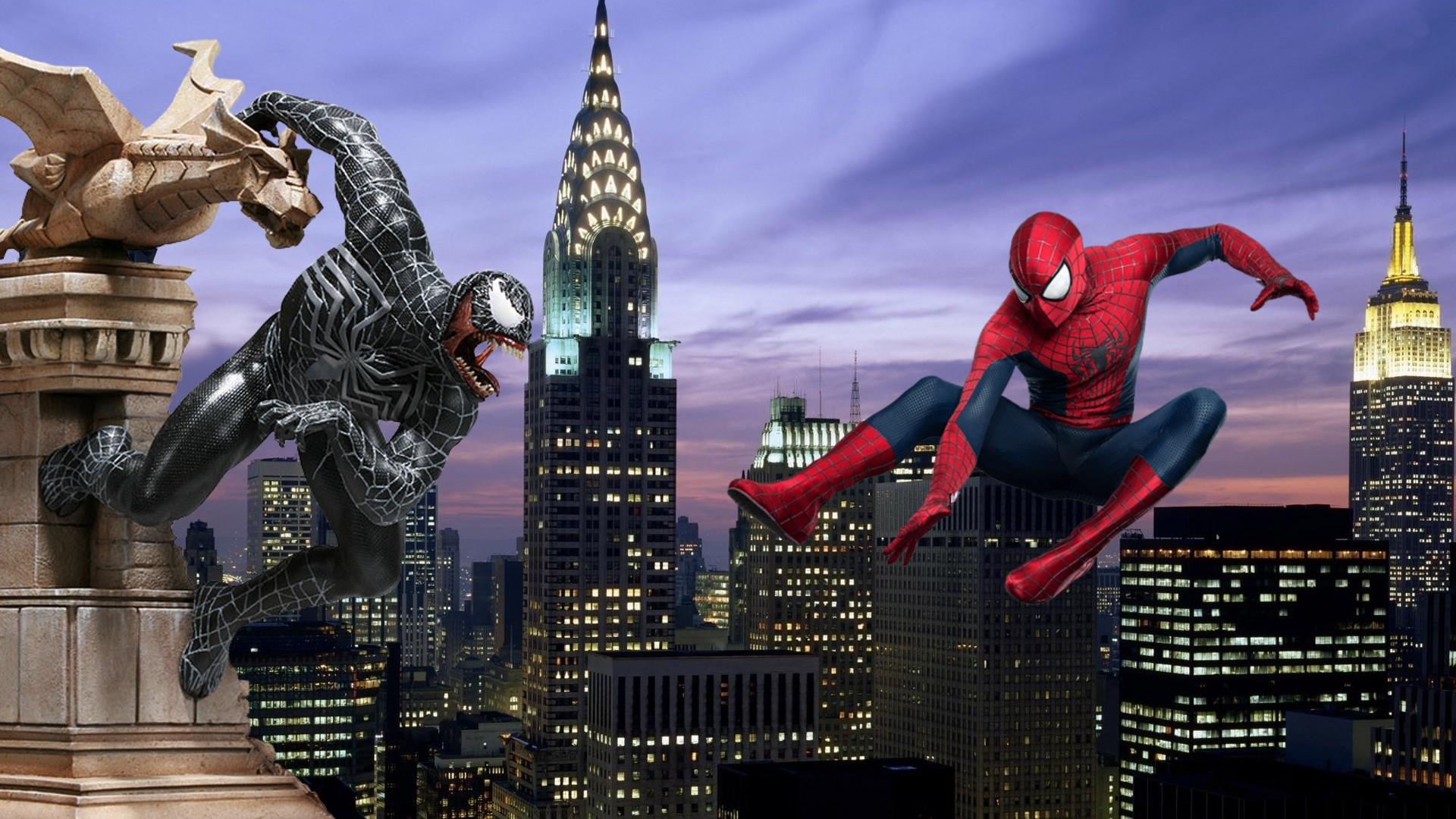 Spider-Man Vs. Venom by ProfessorAdagio on DeviantArt