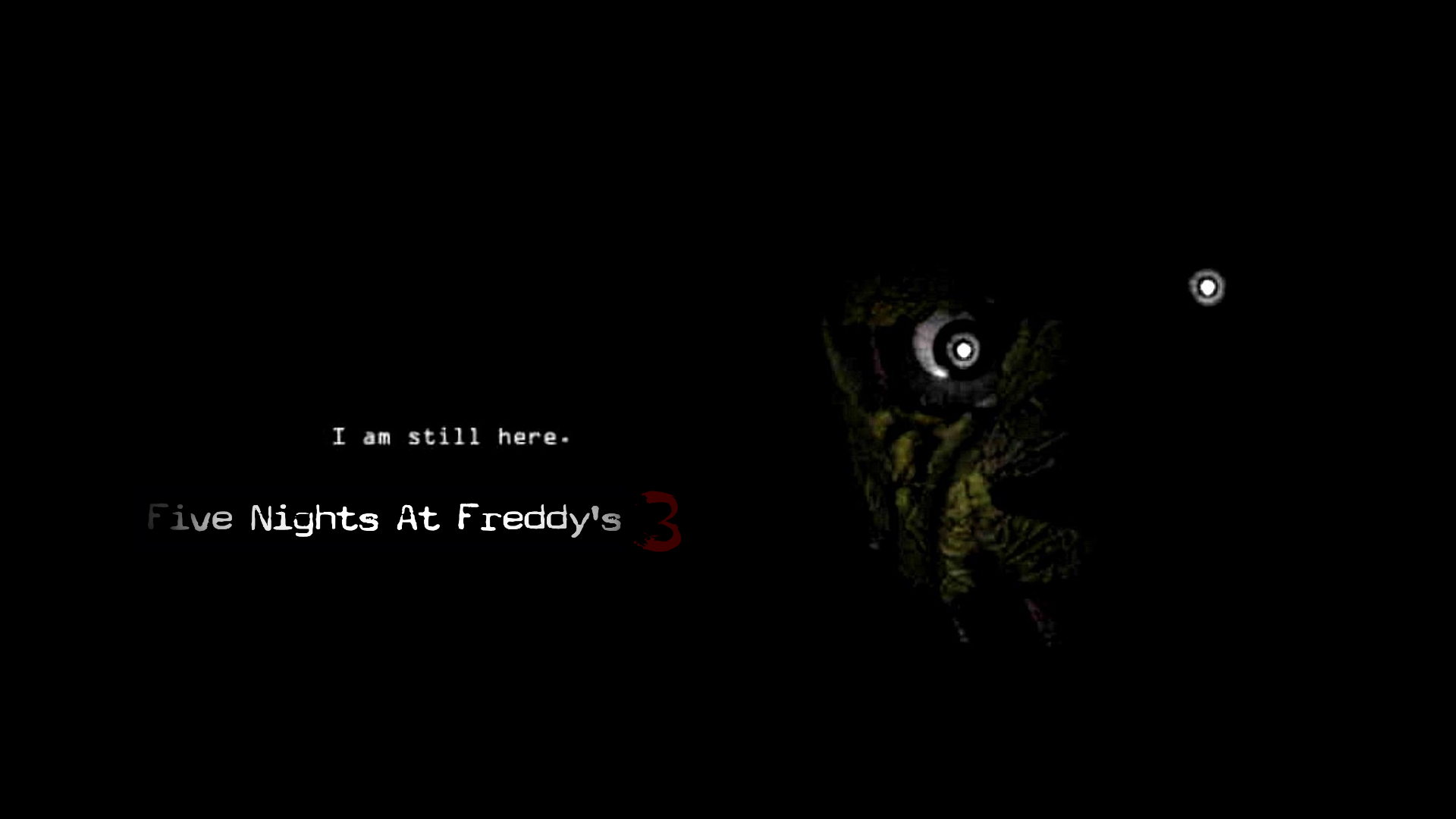Five nights at freddy s 3 official poster by professoradagio on