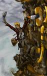 Jack and the Steamstalk -art- by neener-nina