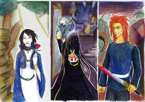 Trio of Abarat by neener-nina