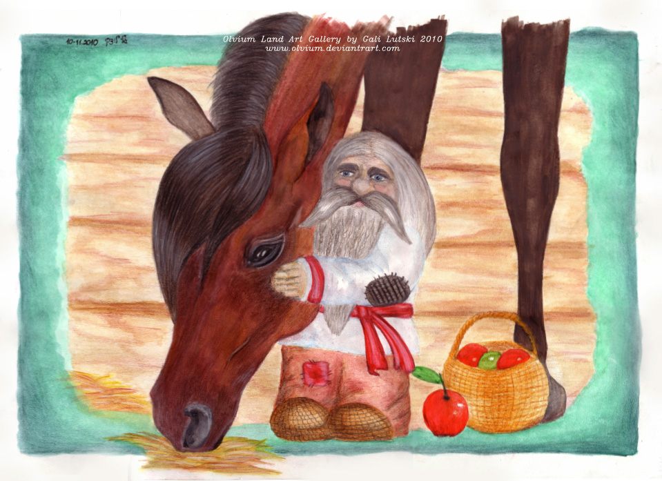 Domovoi and His Horse