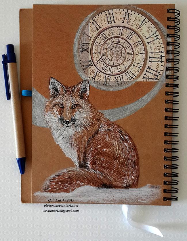 Fox Notebook by Olvium