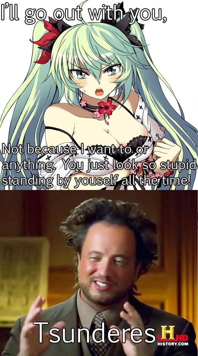 Tsundere Memes. Best Collection of Funny Tsundere Pictures