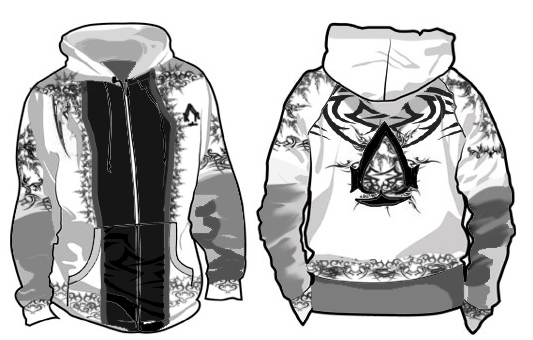 my assassin hoodie design by asoq - Hoodie Design Ideas