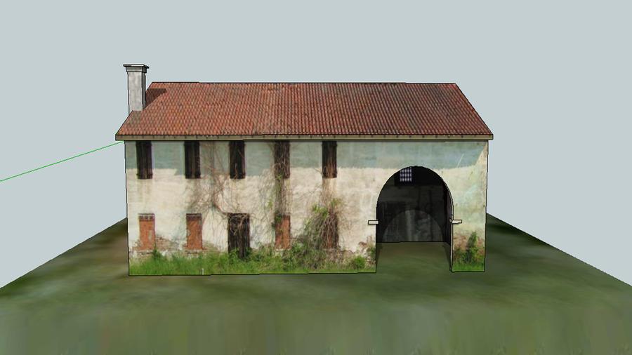 Roman farm house 3d model by asoq on deviantart for Farm house model