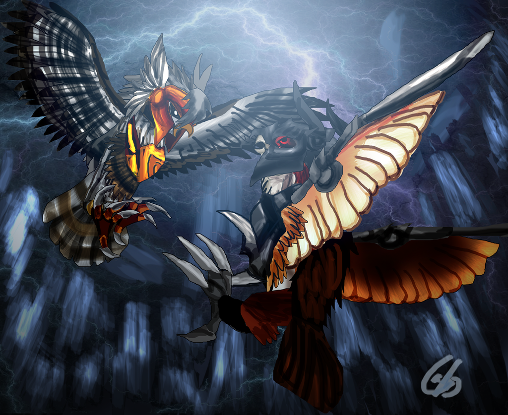 Storm Fight by Asoq