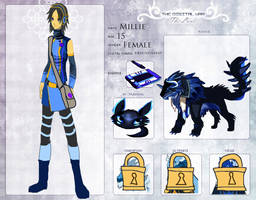 TDW OC: MIllie Zhan (Updated) by Asoq