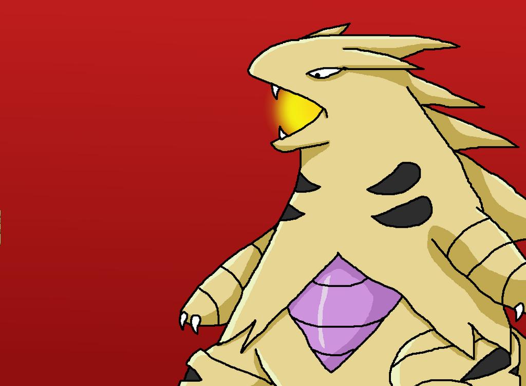 Pokemon Shiny Tyranitar And Tyranitar Images | Pokemon Images