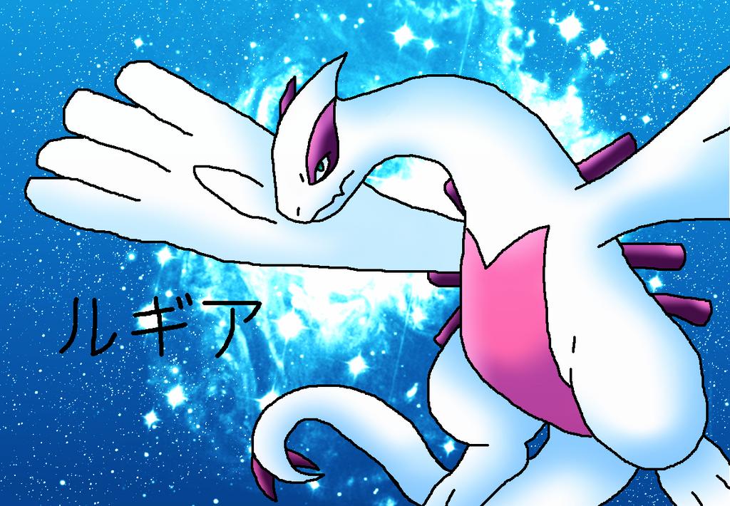 Shiny Lugia by ShadowxJamie on deviantART