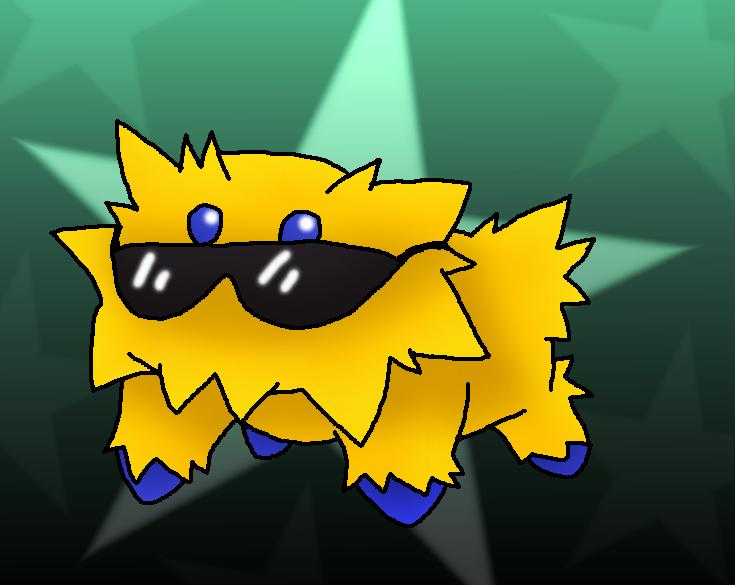 Gangnam style Joltik by ShadowxJamie