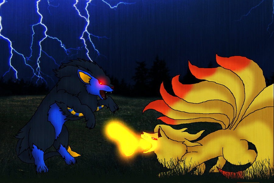 Ninetails And Luxray L...
