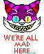 We're All Mad Here cheshire cat sprite by ShadowxJamie