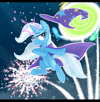 The Great and Sparkly Trixie by Hollulu