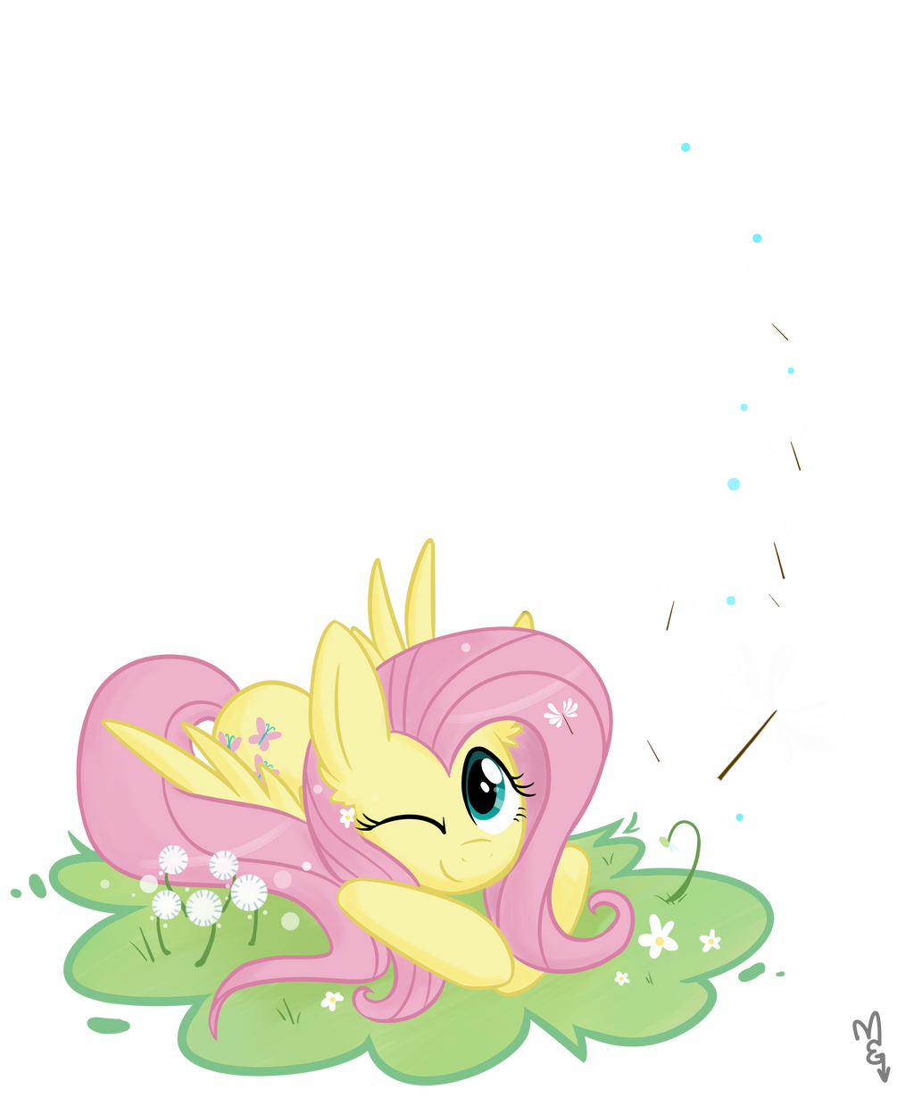 Fluttershy -- Make a Wish by Hollulu