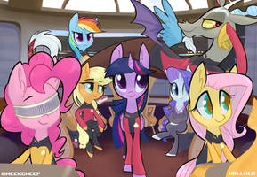 Star Trek: The Pony Generation by Hollulu