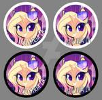 Equestria LA Starstruck Button Designs