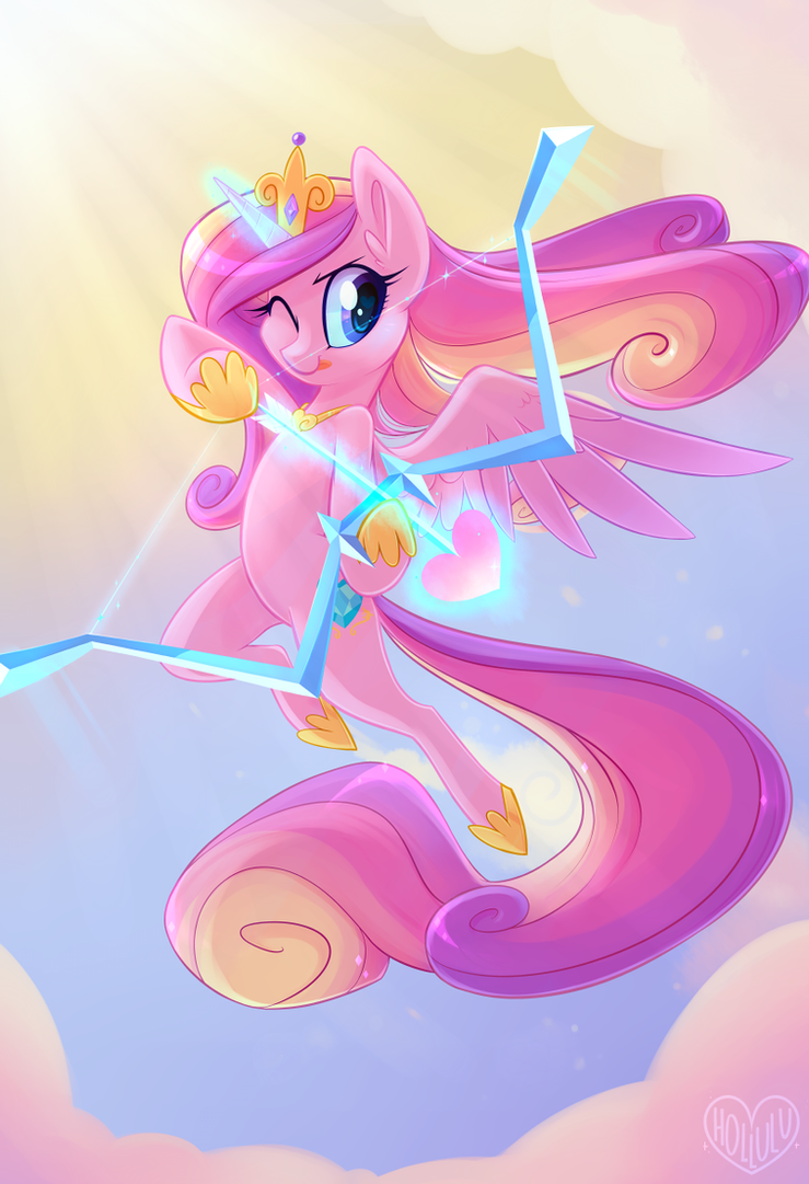 Cadance's Bow by Hollulu