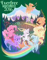 Everfree Northwest 2016 WeLoveFine Exclusive Shirt by Hollulu