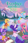 Everfree Northwest 2016 Official MLP Comic Art by Hollulu