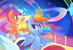 Rainbow Road: Double Dash