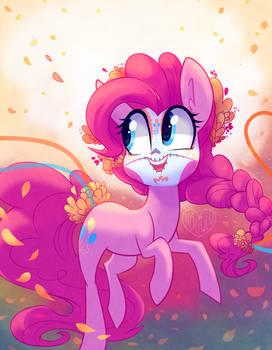 Dia de los Muertos Celebration with Pinkie Pie
