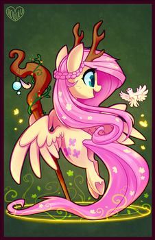 DnD Pony Series: Druid Fluttershy