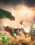 Abbas ibn Ali in the day of Ashura