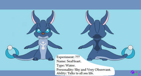 My Experiment OC SeaHeart by minikitty1516