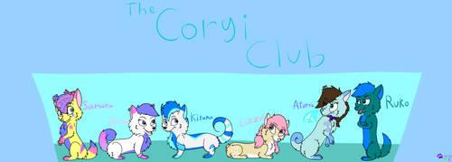 The Corgi Club by minikitty1516