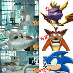 TY VS SPYRO AND CRASH WITH SONIC Commercial