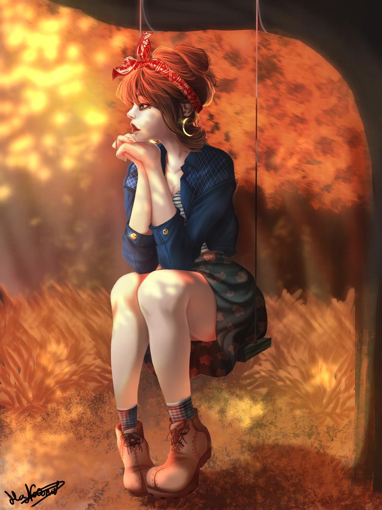 Fall by HaNo0onat