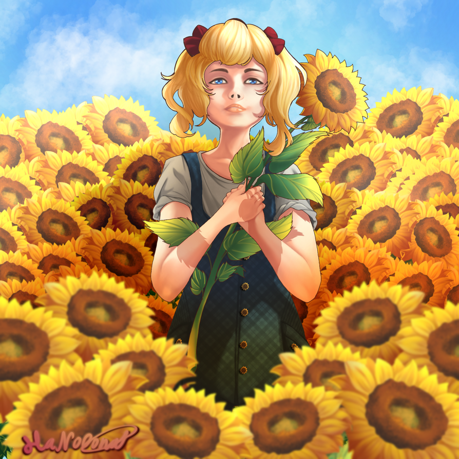 Sunflowers by HaNo0onat
