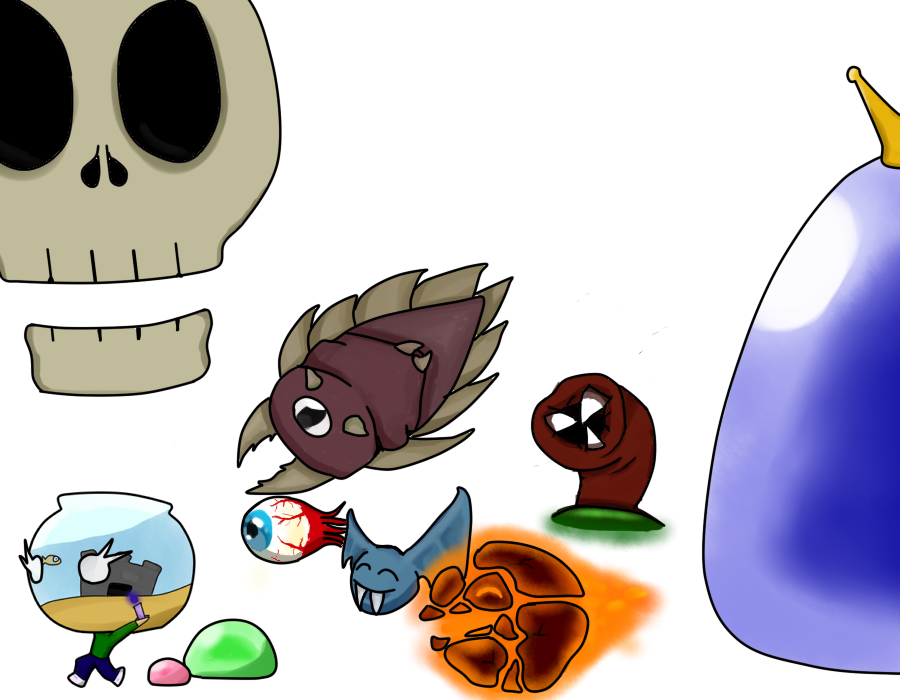 Anime Characters In Terraria : Terraria flipping out chibi by theturdheartbeat on deviantart