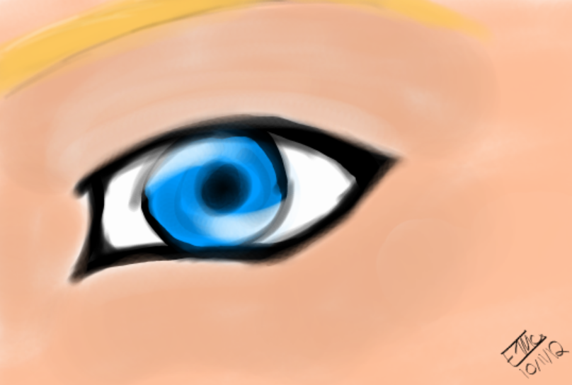 Cayla's eye by wolf--eyes