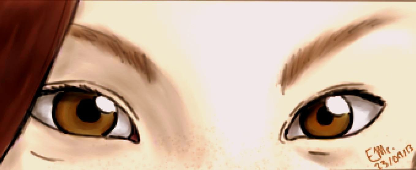 realistic pair of eyes practice by wolf eyes on deviantart